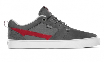 etnies paire de chaussures rap ct nathan williams gris