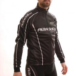 alltricks by northwave veste thermique sport noir blanc