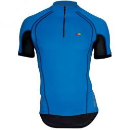 northwave maillot manches courtes force bleu