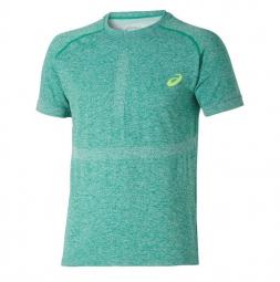 asics maillot seamless vert