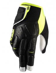 100 paire de gants simi noir jaune