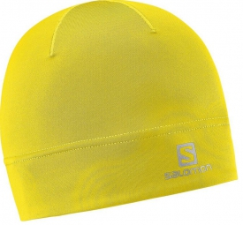 salomon bonnets active fluo yellow