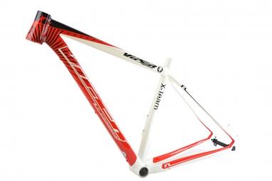 viper cadre x team 29 blanc rouge