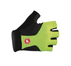 castelli 2015 gants preza jaune fluo noir