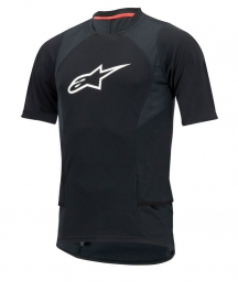 alpinestars maillot manches courtes drop 2 noir
