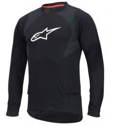 alpinestars maillot manches longues drop 2 noir