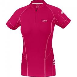 gore running wear magnitude 2 0 zip maillot femme