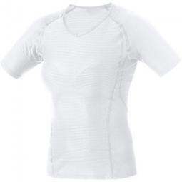 gore running wear esssential maillot blanc femme