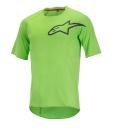 alpinestars maillot manches courtes rover vert
