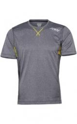 zoot 2015 tee shirt run surfside gris jaune homme