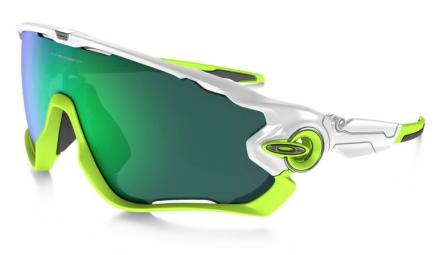 oakley paire de lunettes jawbreaker white jade iridium ref oo9290 03
