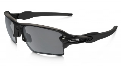 oakley lunettes polarized flak 2 0 xl black black iridium polarized ref oo9188 08