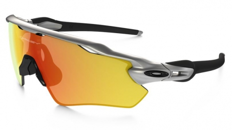 oakley lunettes radar ev path silver fire iridium ref oo9208 02