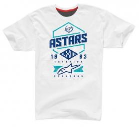 alpinestars t shirt hex blanc