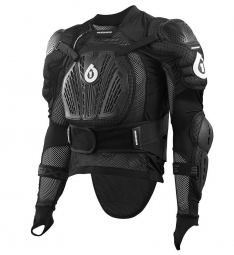 661 sixsixone 2016 veste integrale rage pressure suit noir