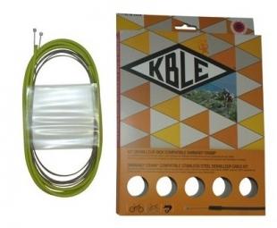 transfil kit frein vtt inox shimano sram vert