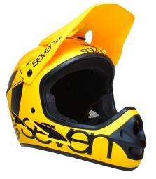 casque integral seven m1 jaune fluo
