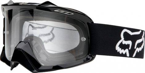 fox masque air spc noir ecran transparent