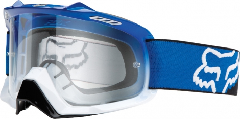 fox masque air spc bleu blanc ecran transparent