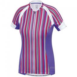 gore bike wear maillot manches courtes femmes power violet