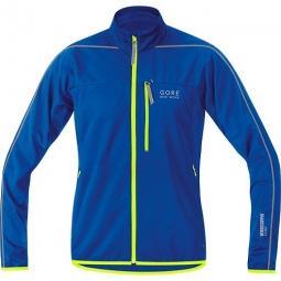gore bike wear veste countdown windstopper bleu jaune