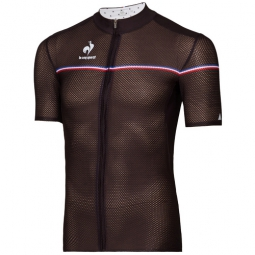le coq sportif maillot manches courtes ultra light noir