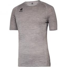 le coq sportif sous maillot merinos gris
