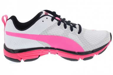 puma chaussures femme mobium ride blanc rose