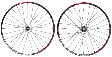 fulcrum paire de roue red passion 27 5 disque 6tr avant 9 15mm arriere 9mm shimano s