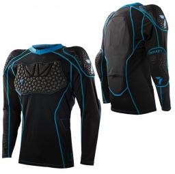 seven veste de protection manches longues transition noir