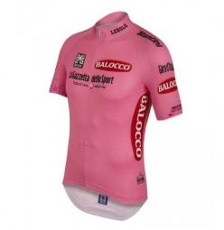santini 2015 maillot manches courtes replica maglia rosa giro d italia 2015