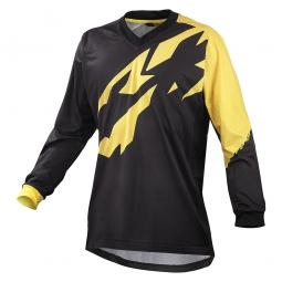 mavic maillot manches longues crossmax ltd noir jaune
