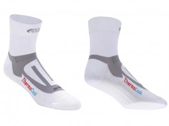 bbb paire de socquettes ergofeet blanc