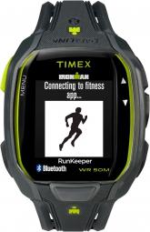 timex montre ironman run x50 gris vert