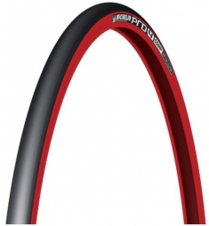 michelin pneu pro4 comp 700x23 rouge