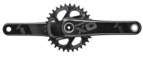 sram pedalier x01 direct mount avec plateau 32 dents 11v gxp noir