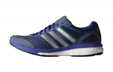 adidas paire de chaussures adizero boston 5 femme noir violet