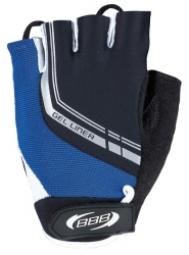 bbb paire de gants courts ete gel liner noir bleu