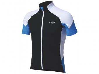 bbb maillot manches courtes ete comfortfit noir bleu