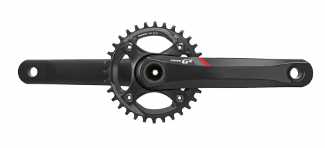 sram pedalier gx 1400 bb30 boitier non inclus 32 dents 11v rouge