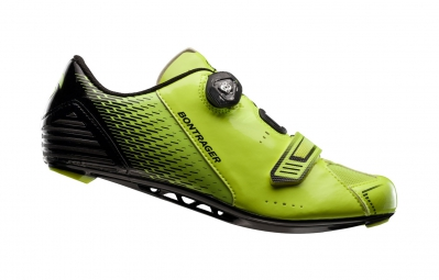 chaussures route bontrager specter jaune