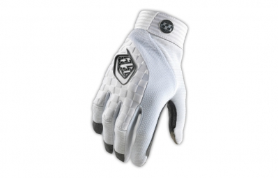 troy lee designs gants sprint blanc