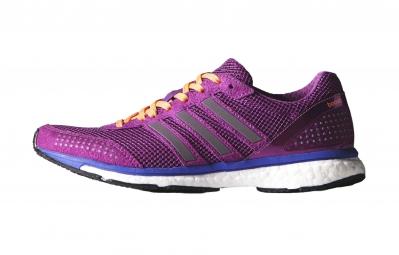 adidas paire de chaussures adizero adios boost 2 0 femme violet
