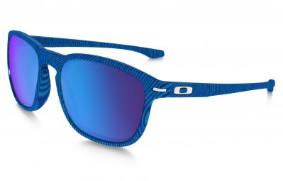 oakley paire de lunettes enduro fingerprint bleu sapphire iridium ref oo9223 23