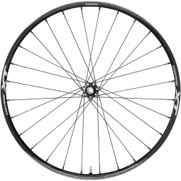 shimano roue avant xt trail disc m8020 29 axe 15mm centerlock 2016