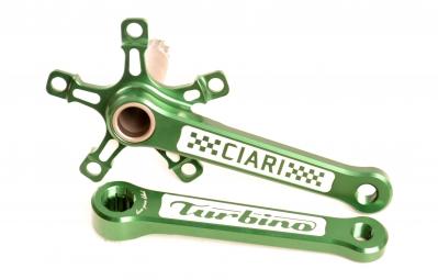 ciari pedalier turbino vert