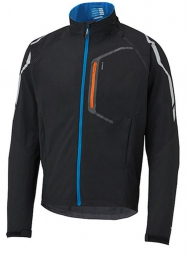 shimano veste hybrid noir bleu clair