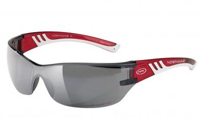 northwave paire de lunettes space rouge blanc