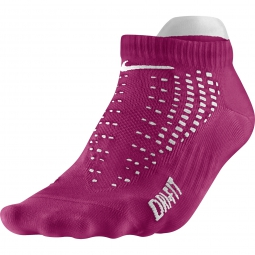 nike chaussettes anti ampoule lightweight courtes rose