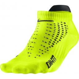 nike chaussettes anti ampoule lightweight courtes jaune